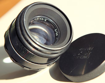 HELIOS 44-2 2/58mm M42 Russian Lens for Zenit Style #81015951 USSR Biotar Copy