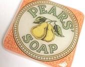 Glass Mini Tile, Pears Soap