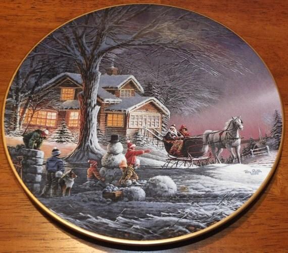 Winter Wonderland Terry Redlin Plate