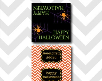 Halloween Party Bag Toppers Printable ~ Instant Download!