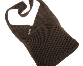Cocoa Brown Purse Hobo Bag Tote Shoulderbag Sak Handbag