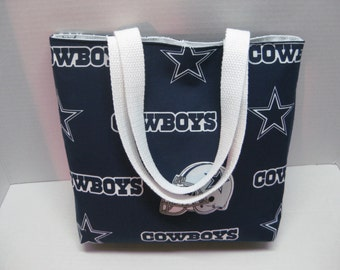 Dallas Cowboys Football Team Medium Tote