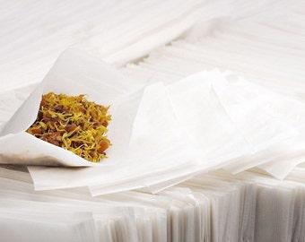 Press N Seal Brew Tea Bags 2.5x 2.75 ~ 100 qty ~ Fill & iron to seal