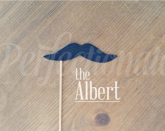 The Albert Felt Mustache Prop | Mustache Prop | Mustache Photo-Booth Prop