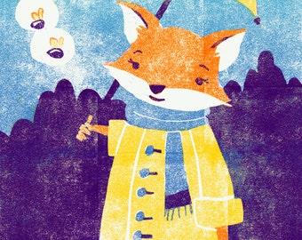 Fox and Fireflies