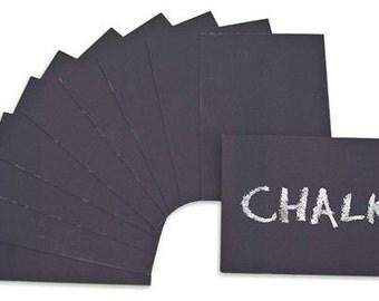 """Chalkboard Cards, Chalkboard Place Card, 2.5"""" x 3.5"""""""