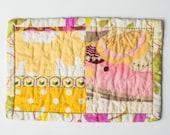 handmade mug rug | a tiny tea trivet