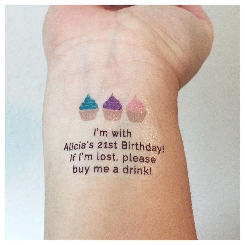 10 birthday tattoos buy me a drink birthday girl tattoo for Birthday date tattoos