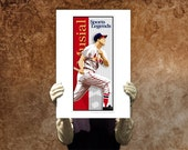Special Order for Nick - 8 x10 Stan Musial St Louis Cardinals Baseball Print Cooperstown Poster Wall Decor