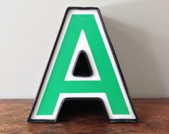 A - Reclaimed vintage letter