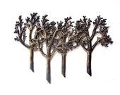 Vintage Syroco Tree Wall Hanging