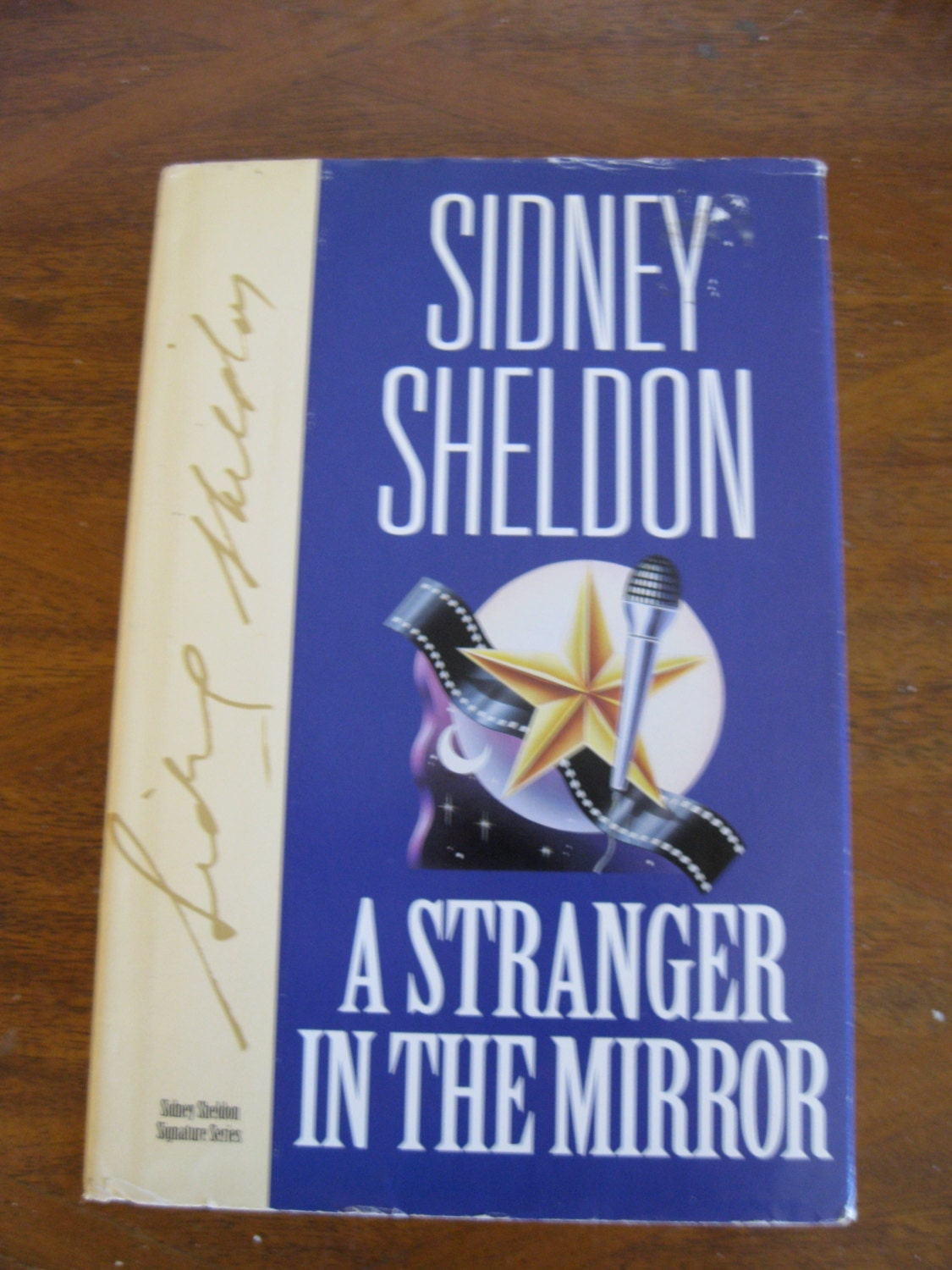 Sidney Sheldon Signed Book border=
