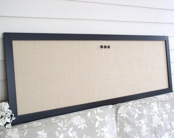 modern bulletin board message center magnetic organizer. Black Bedroom Furniture Sets. Home Design Ideas