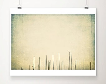 sailing boat photograph boat mast photograph minimalist decor green home decor abstract art sailing boat print travel photography