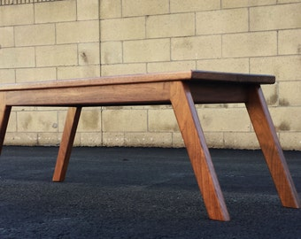 "The ""Champ"" mid-century modern coffee table, modern coffee table, coffee table,  danish modern"