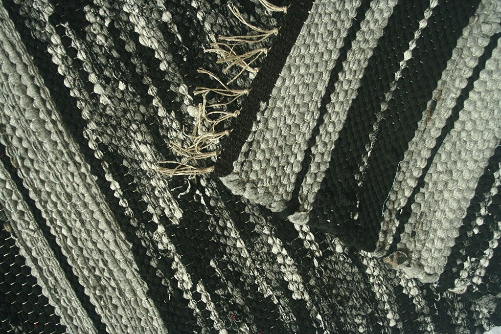 Https Www Etsy Com Listing 225085107 Handwoven Rug Bath Mat Kitchen Mat Black