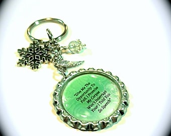 Magic Strikes Inspired Keychain - Failure - Book Quote - Swag - Themed Accessories - Key Chain - Zipper Pull - Bag Charm - Kate Daniels