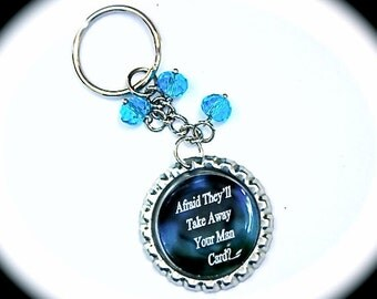 Kate Daniels Inspired Keychain - Book Quote - Urban Fantasy - Author Swag - Themed Key Chain - Themed Accessories - Ilona Andrews
