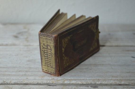 Miniature Tintype Album
