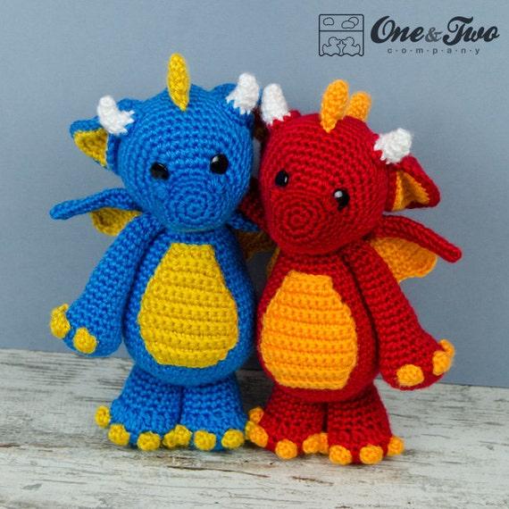 Felix the Baby Dragon Amigurumi PDF Crochet Pattern