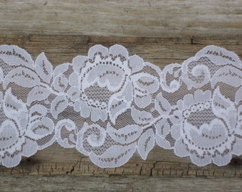 Wide White Lingerie Lace