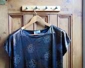 Shirt T Metal Rock Vintage Heavy Tee Tshirt Top Retro Vtg Punk Biker womens top clothing ladies  / Dolly Topsy Etsy UK