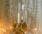 Vintage Wall Candle Light Stainless Steel And Glass Vintage Wall Hanging Candlelight Vintage Home Decor