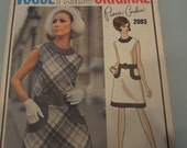 Vintage Vogue Paris Pierre Cardin Pattern 2083