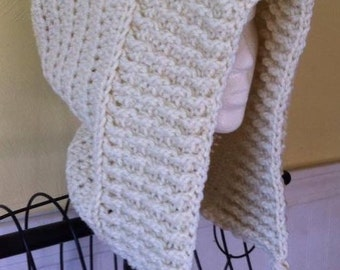 The Tallulah Tassel Hood- Made to Order - Adult Size