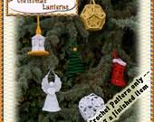 PDF Crochet Pattern Christmas Lanterns