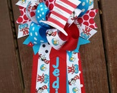 Dr seuss baby shower-cat in hat mum-cact in hat baby shower