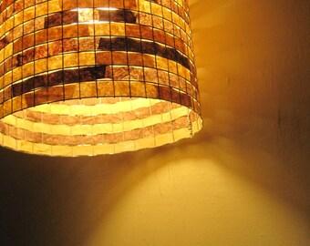 Pendant Lighting Chandelier Hanging Ceiling Light Drum Lampshade Lampada Coffee Filter Art - Shipping Worldwide