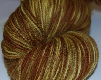 SALE Toffees -  merino extra fine, handdyed yarn 100g