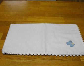 White Cotton Blanket