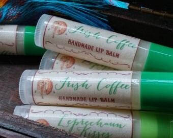 Handcrafted Lip Balm - Irish Coffee