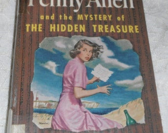Penny Allen and the Mystery of The Hidden Treasure by Jean McKechnie Vintage Book
