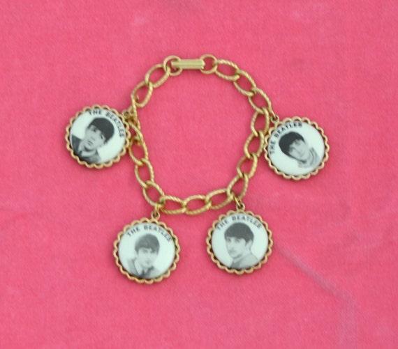 Beatles Charm Bracelet: Vintage 1964 Beatles Charm Bracelet Nems Entertainment