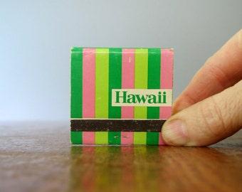 Mid Century Matchbook / Matches Hawaii Hotels / Restaurant Lot