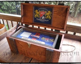Military Chest and Shadow Box