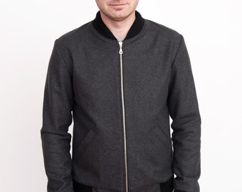 Bomb Rider. Woolen mens jacket. - mmhm...