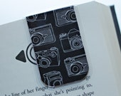 Magnetic Bookmark, Photography Bookmark, Camera Bookmark, Shoot Style