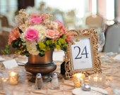 Reception Table Numbers, Wedding Table Numbers, Seating