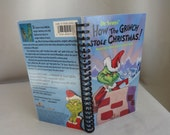 How the Grinch Stole Christmas VHS Tape Box Notebook
