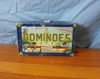 Vintage Hal-Sam Capitol Dominoes 930