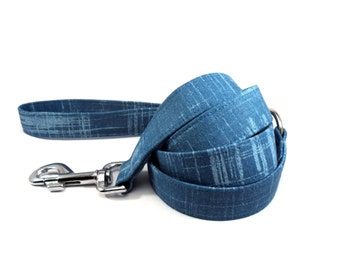 Dog Leash, TURQUOISE, Handmade Dog Leash