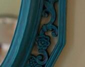 Blue and Black Dart Ind. Mirror
