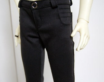 60cm / SD13 BJD Boy Dark Grey Moto Jeans