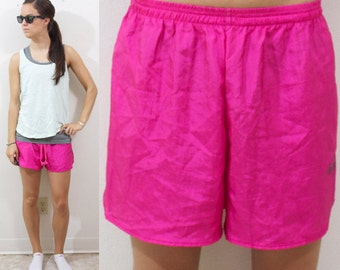 Vintage Retro Pink Gitano Brand Summer Shorts