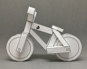 PDF - paperbikes v1 - papercraft bike  - mountain bicycle MTB