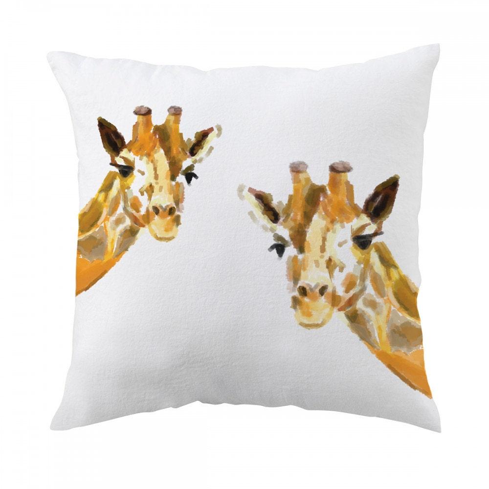 Giraffe Pillow 18x18 inch Decorative Cushion Cover